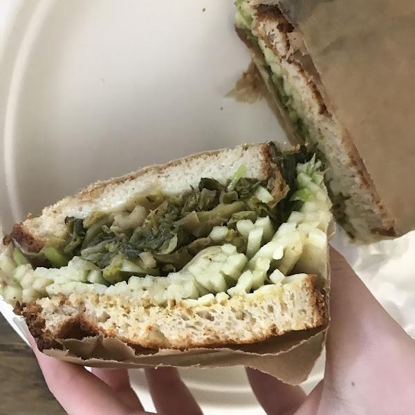 Brussels sandwich