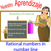 Rational in the numbers line