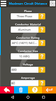 Screenshot of Master Electrical Suite