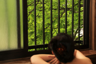Photo: 客室露天風呂だと何度でも入れます。