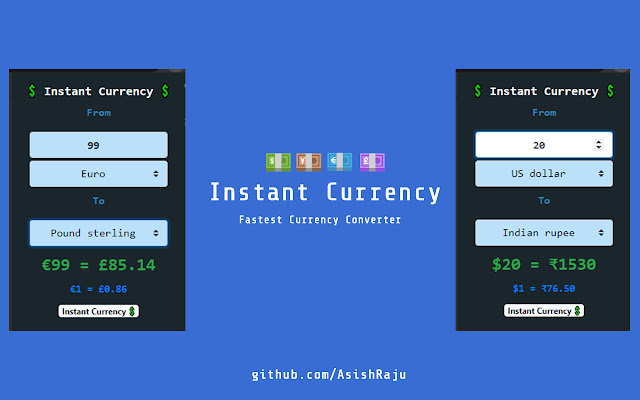 Instant Currency