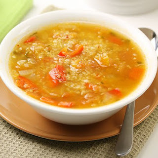 Spicy Quinoa Soup.