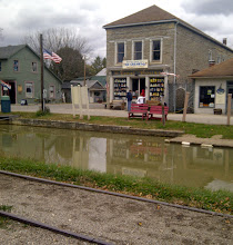 Photo: Metamora IN - Buildings on the Whitewater Canal