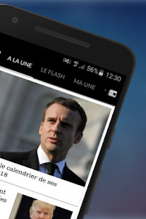Le Figaro.fr : Actu en direct Screenshot