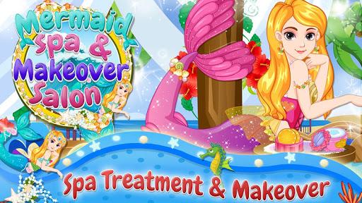 Mermaid Spa Makeover Salon
