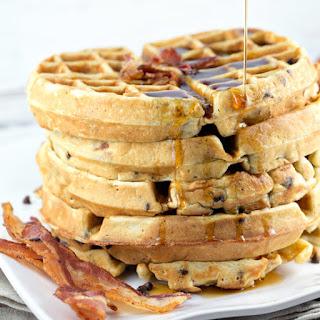 Bacon Chocolate Chip Waffles Recipe