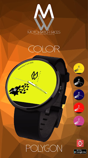 MW® Moto Watch Faces - Polygon