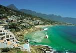 Clifton - Cape Town with Table Mountain and 12 Apostles
