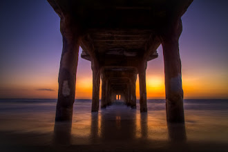 Photo: Everything You Say Has Water Under It - Manhattan Bech, CA