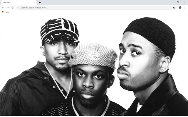 A Tribe Called Quest New Tab Theme