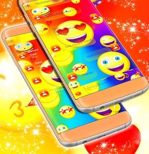 Emoji 2017 SMS HD téma - náhled
