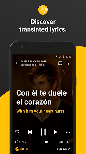 Musixmatch music & lyrics Premium 6.4.0 APK