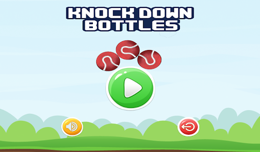 Knock Down Bottles