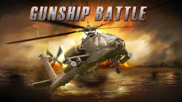تحميل لعبة طائرات الهليكوبتر Gunship Battle: Helicopter 3D  للاندرويد APK مجانا