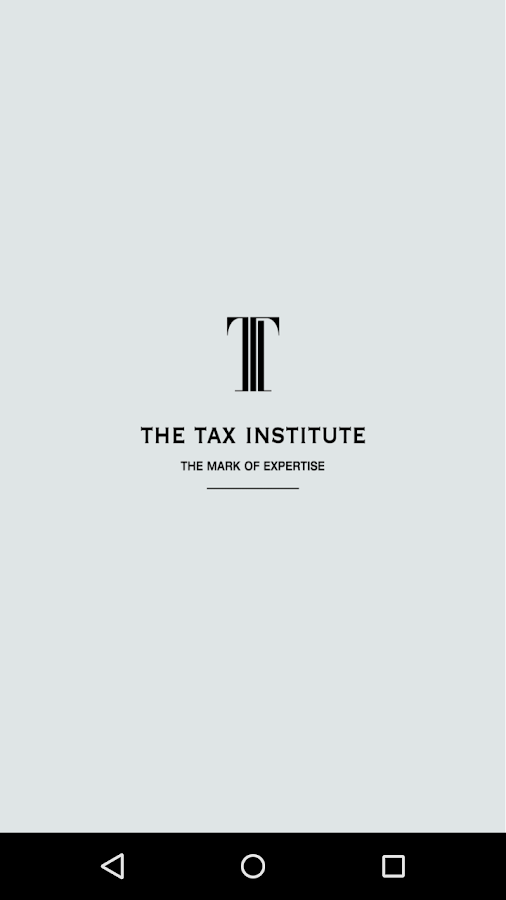 The Tax Institute CPD App- screenshot
