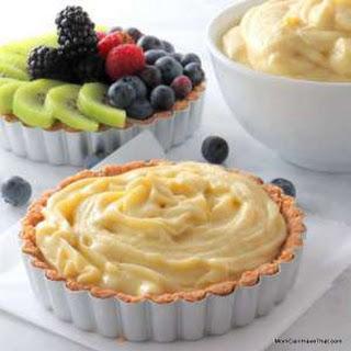 Pastry Cream (Low Carb, Gluten Free, Sugar Free)