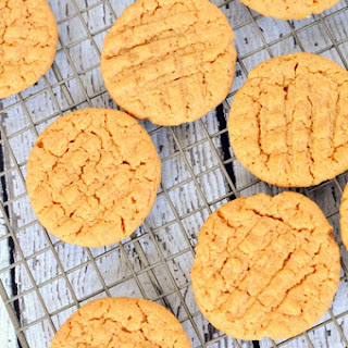Sugar-Free Peanut Butter Cookies.