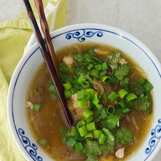 Instant Pot Chicken & Ginger Noodle Soup