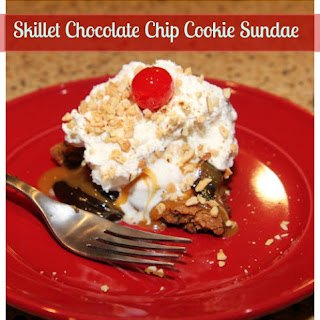Skillet Chocolate Chip Cookie Sundaes