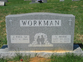Photo: Workman, J. Paul Sr. and V. Marie