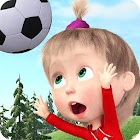 Masha and the Bear: Kids Football Games Cup 2018 icon