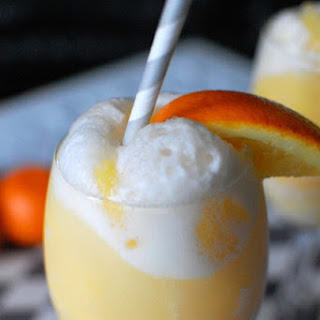 Orange Cream Mimosa Mocktail.