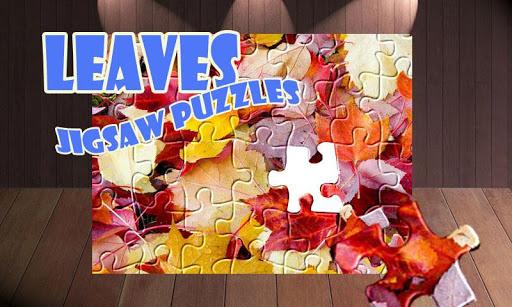 Autumn Leaves: Kids Jigsaw