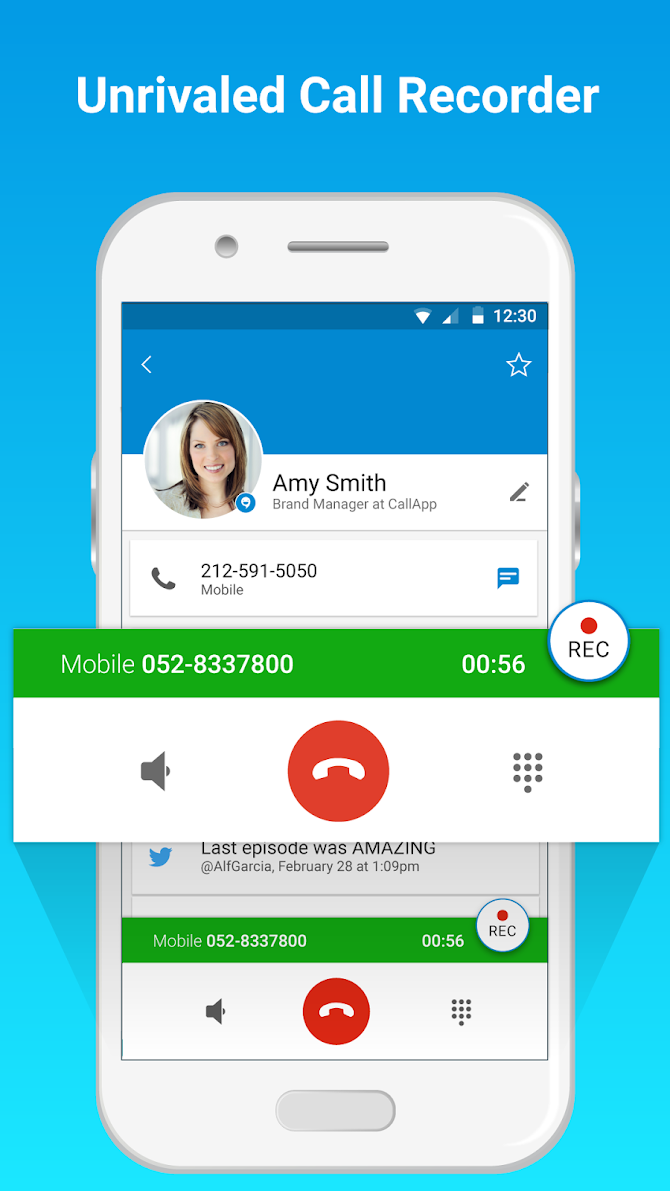 CallApp: Caller ID, Block & Phone Call Recorder Android 4