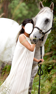 Woman With Horse Photo Editor - náhled