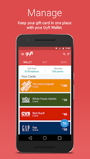 Gyft - Mobile Gift Card Wallet Screenshot 4