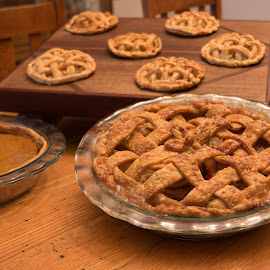 Thanksgiving Treats by Alan Roseman - Food & Drink Cooking & Baking ( apple pie, baking, pies, bakery, sundrie, granum, thanksgiving, sweets, claire granum )