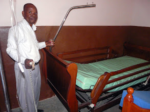 Photo: ce lit électrique vient de Grandcamp !