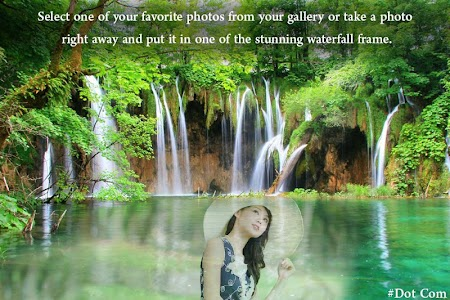 Waterfall Photo Frame screenshot 3