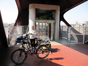 Photo: Day 20 - Exiting the Lift and Onto the Footbridge (Esch)