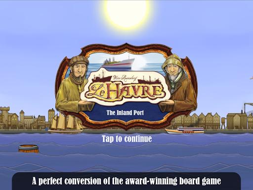 Le Havre: The Inland Port Spel för Android screenshot