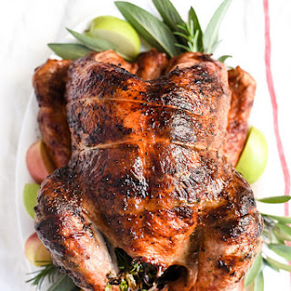 Herb Butter Rotisserie Turkey