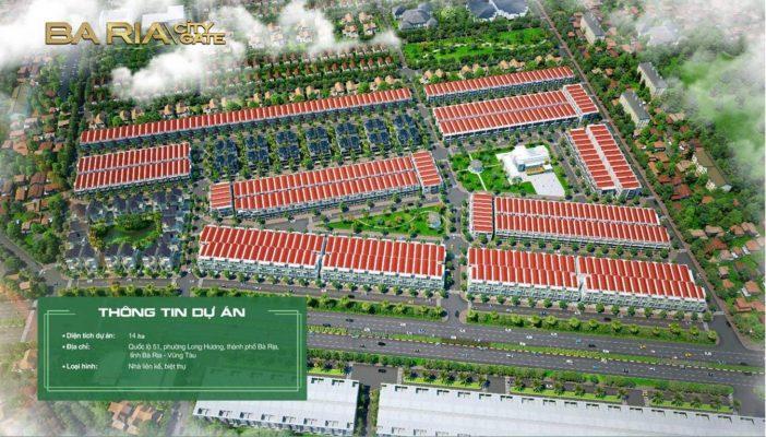 Dự án vàng trong làng bất động sản- Bài Rịa City Gate