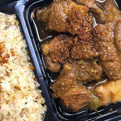 Pork Adobo Rice Combo