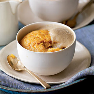 Steamed Butternut Squash Pudding.