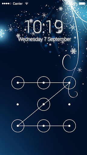 Applock Theme Snow Ice