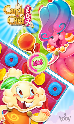 Candy Crush Jelly Saga- screenshot