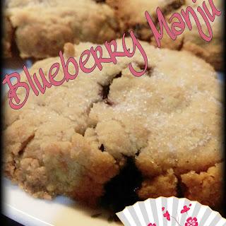 Blueberry Manju