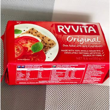 Ryvita 英國全榖 Whole Grain 黑麥脆餅