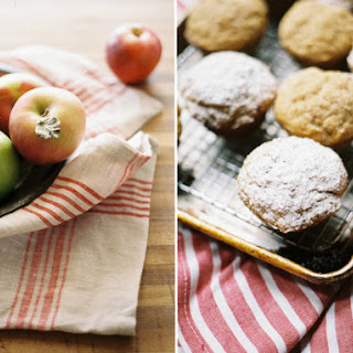 Apple Butter Doughnut Muffins