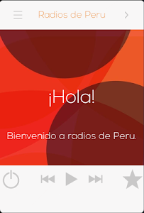 Radios de Peru screenshot 0