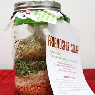 Friendship Soup in a Jar.