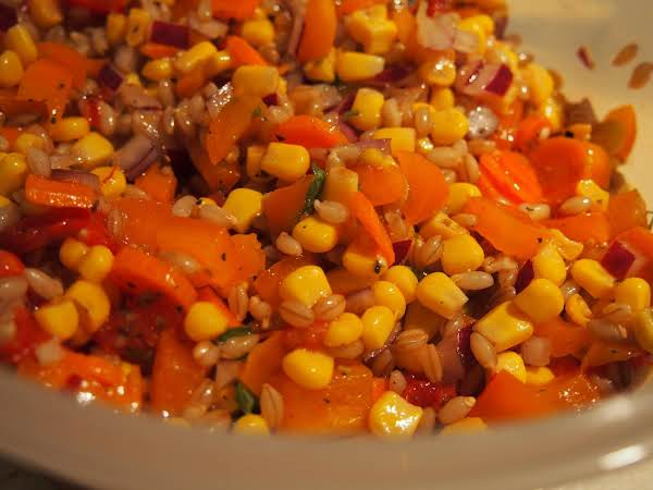 Barley And Corn Relish