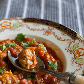 Lamb Brains with Tomato