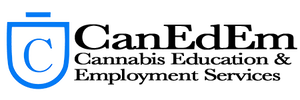 logo of CanEdEm - a cannabis certification agency - cannabis education