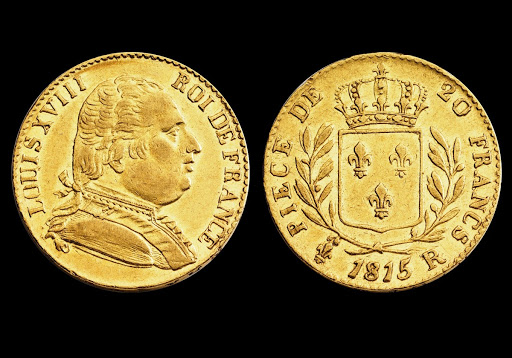 Louis d'Or gold coin